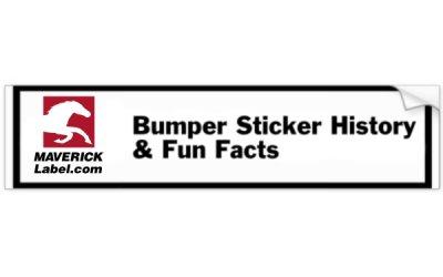 Bumper Sticker History – Fun Facts