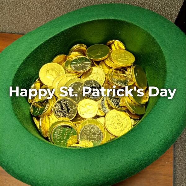 The Luck of the Irish to Ya