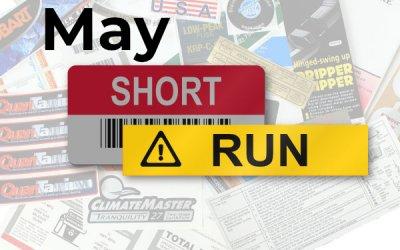 Short Run Stories for May