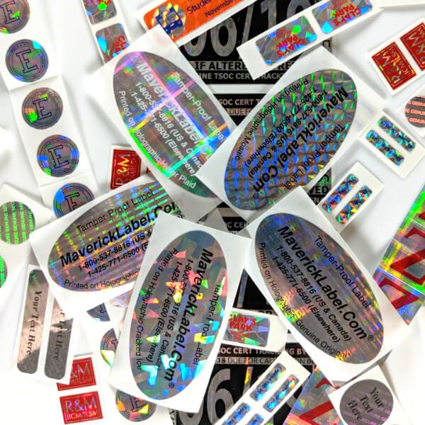 Hologram Labels Are More Than Just Flashy - MaverickLabel Blog